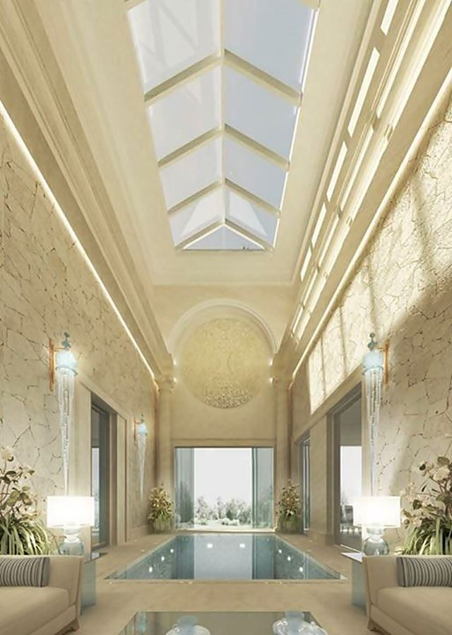 Luxury pool designed by Ions Design, Dubai.