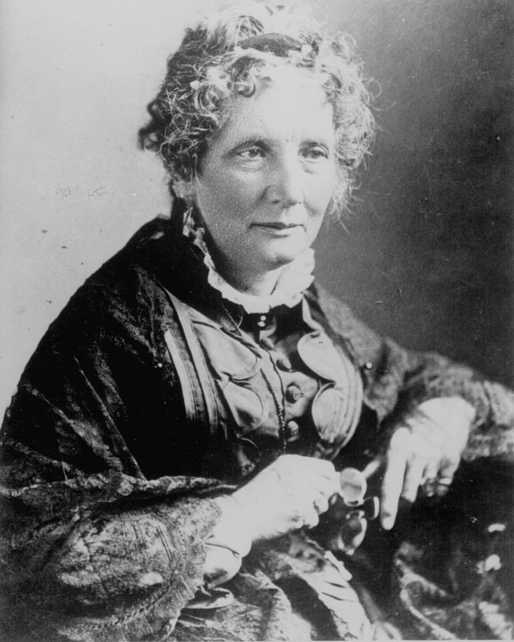 """Aiding in the abolition of slavery is Harriett Beecher Stowe's, Uncle Tom's Cabin. According to legend, Abraham Lincoln greeted Harriet Beecher Stowe in 1862 by saying """"So you're the little woman who wrote the book that started this great [Civil] war."""" Truly one of history's finest depiction of American slavery."""