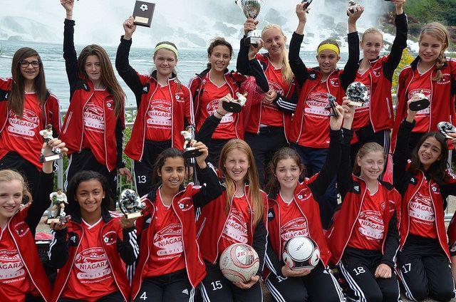 St. Catharines Jets Girls Soccer Team #NiagaraFalls #Soccer #NiagaraCruises