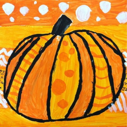 Pumpkin inspiration: Pumpkins inspired by artist Romero Britto