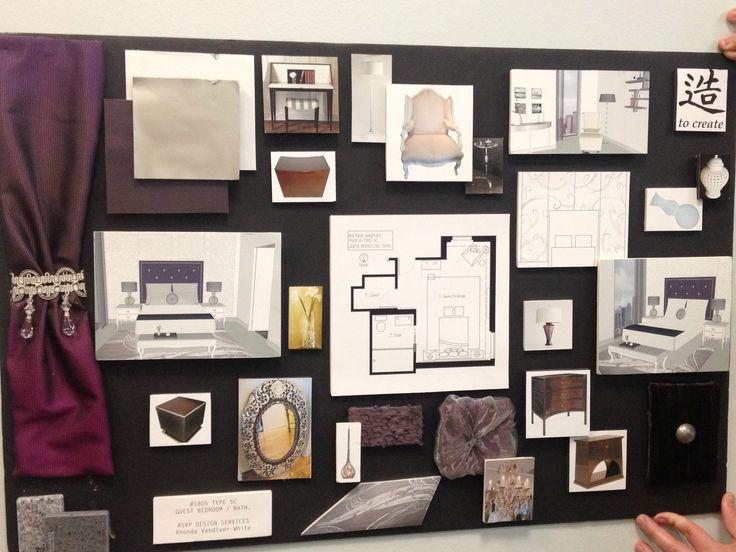 interior design boards for presentations | ... Interior Designer presentation board 2 – Dallas Interior Designer