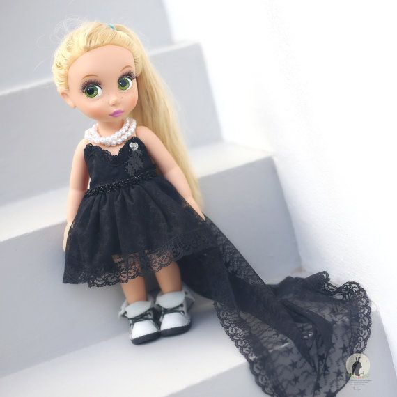 Black night dress .Doll clothes for Disney by RabbitinthemoonThai