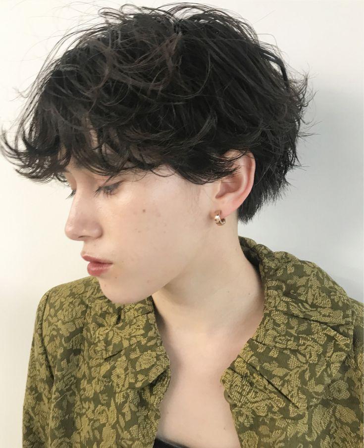 頭の形はキレイに、パーマで1人1人に似合うショートヘアを提案します!