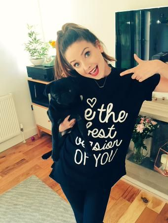 I love zoella so much. She is my favorite girl YouTube and is just so inspirational toward her fans