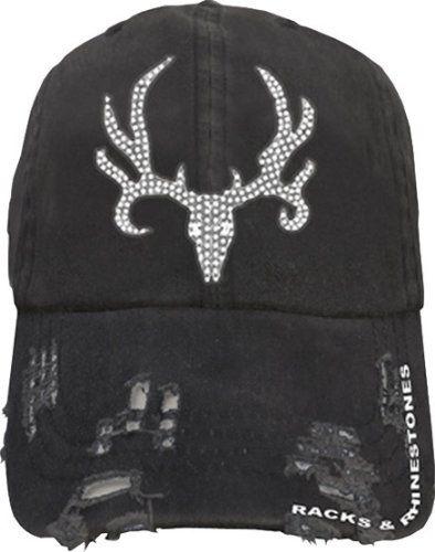 Bone Collector ~ Racks & Rhinestones ~  Love this hat!