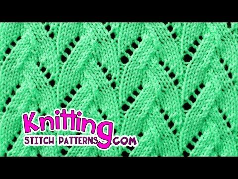 How to knit the Faux Braid stitch . Follow along and see how easy it is to knit. ++ For detailed written instructions, see: http://www.knittingstitchpatterns...