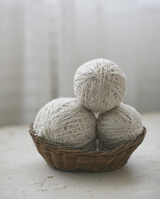 Yarn: simplicity, inspiration, pure possibilities.