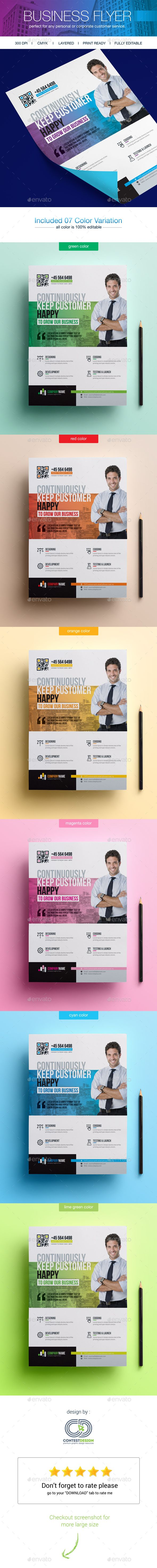 Corporate Business Flyers  — PSD Template #flyer printing #flyers template • Download ➝ https://graphicriver.net/item/corporate-business-flyers/18413963?ref=pxcr