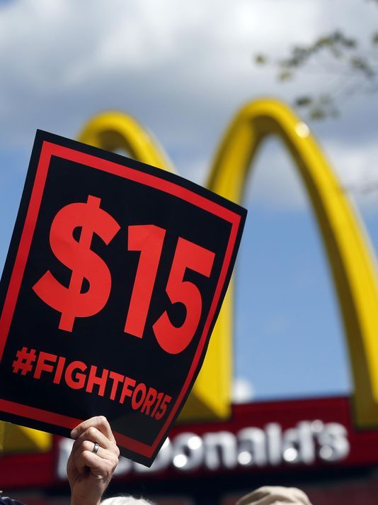 #Media #Oligarchs #MegaBanks vs #Union #Occupy #BLM  Minimum wage to rise in Mich., 18 other states   http://www.detroitnews.com/story/business/2016/12/29/minimum-wage/95970436/   It will be a happy New Year indeed for millions of the lowest-paid U.S. workers. Nineteen states, including Michigan, will ring in the year with an increase in the minimum wage.  Michigan's minimum wage will rise from $8.50 per hour to $8.90...