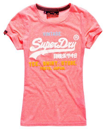 Superdry Shirt Shop Tri-Colour T-shirt