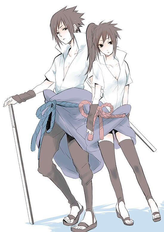 I'm usually not the one for Uchiha Sasuke genderbender but  liking this one