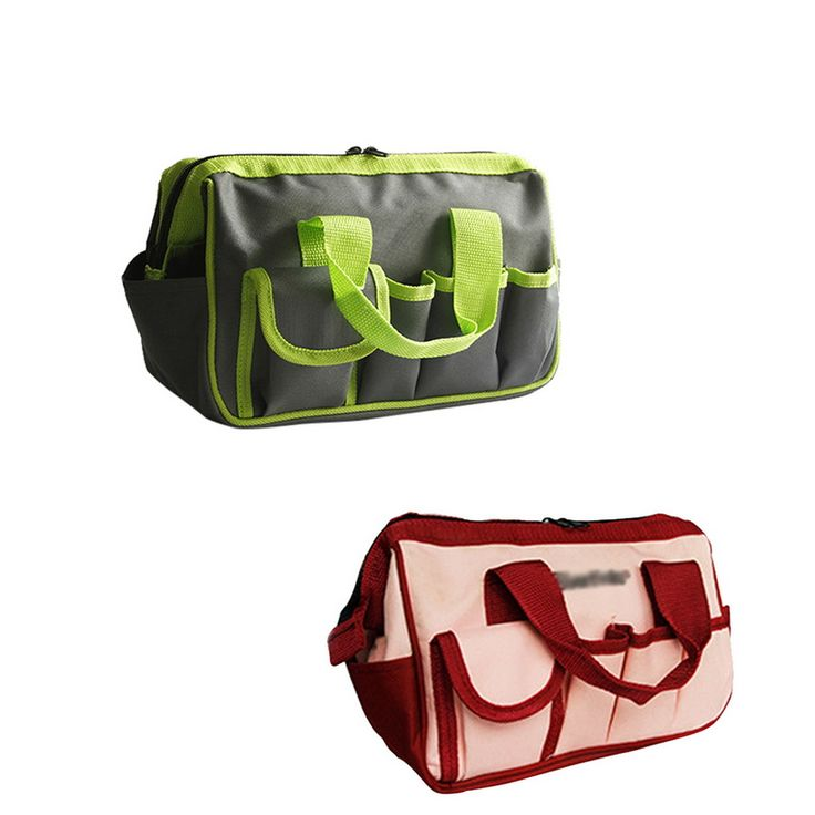 Urijk Multi-function Tool Kit Wear-Resistant Oxford Cloth Portable Garden Bag Electrical Service Tool Bag Household Tool Storage. Yesterday's price: US $14.49 (11.96 EUR). Today's price: US $8.98 (7.40 EUR). Discount: 38%.