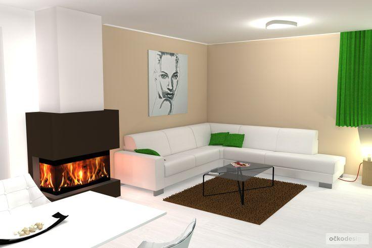 .... krb je navržen jako třístranný, sedačka byla použita stávájící z předchozího bytu