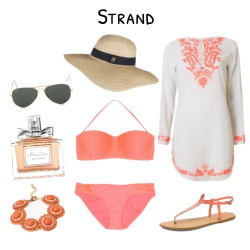 Vakantie #musthaves voor een dagje #strand #beach. #bikini #kaftan #Supertrash #RayBan