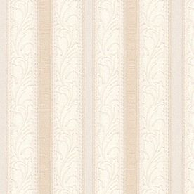 Style Selections�Beige Strippable Prepasted Textured Wallpaper
