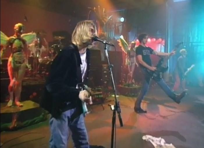 Watch the 'Scentless Apprentice' performance from Live and Loud. http://go.spin.com/1891Ocm  http://smarturl.it/InUtero3CD