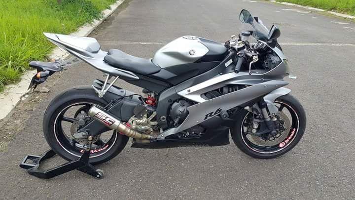 Juragan Moge Bekas Yamaha R6 2007 Dijual - SURABAYA - LAPAK MOTOR BEKAS | MOTKAS