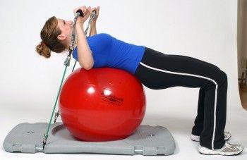Body New Look - Gym avec station theraband - Poitrine