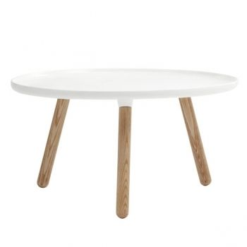 Tablo table large, glossy white