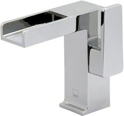 vado synergie > waterfall basin tap (chrome). - taps4less.com #taps #basin