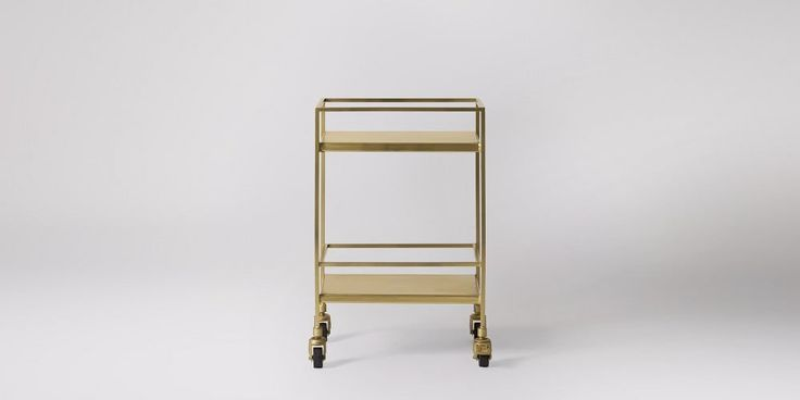 Carrello Gold Bar Trolley | Swoon Editions