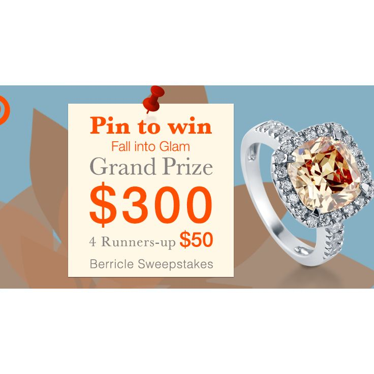 Enter #BerriclePinToWin for a $500 Shopping Spree! Enter here >>http://www.berricle.com/giveaway #PintoWin #Sweepstakes #Berricle #Rings #Style #Fashion #Bling #JewelrySweepstakes
