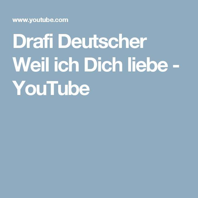 Drafi Deutscher Weil ich Dich liebe - YouTube