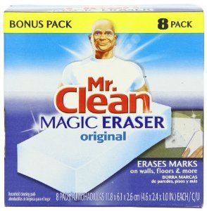 Mr. Clean Magic Erasers: Creative Uses For These Household Cleaning Blocks That Truly Work Magic