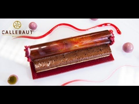 Modern Black Forest, Raspberry Chocolate Bar - Recipe and plating tips f...