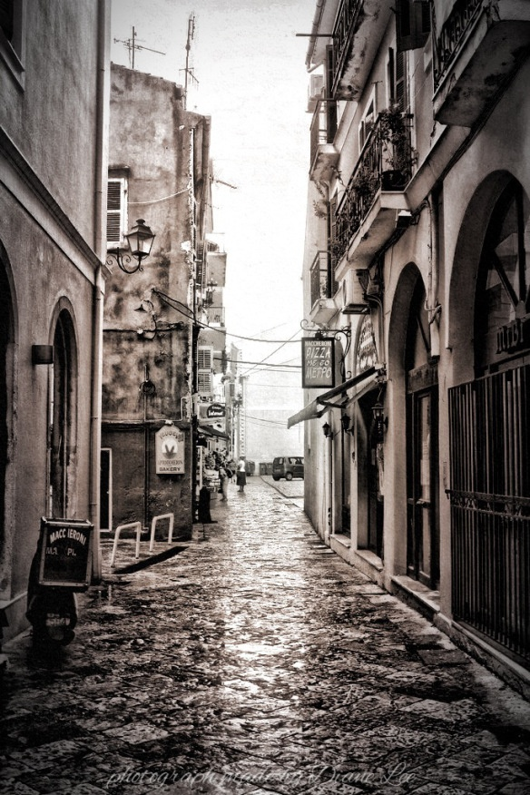 Photoleeshus - Kanoni, Corfu: after the rain.