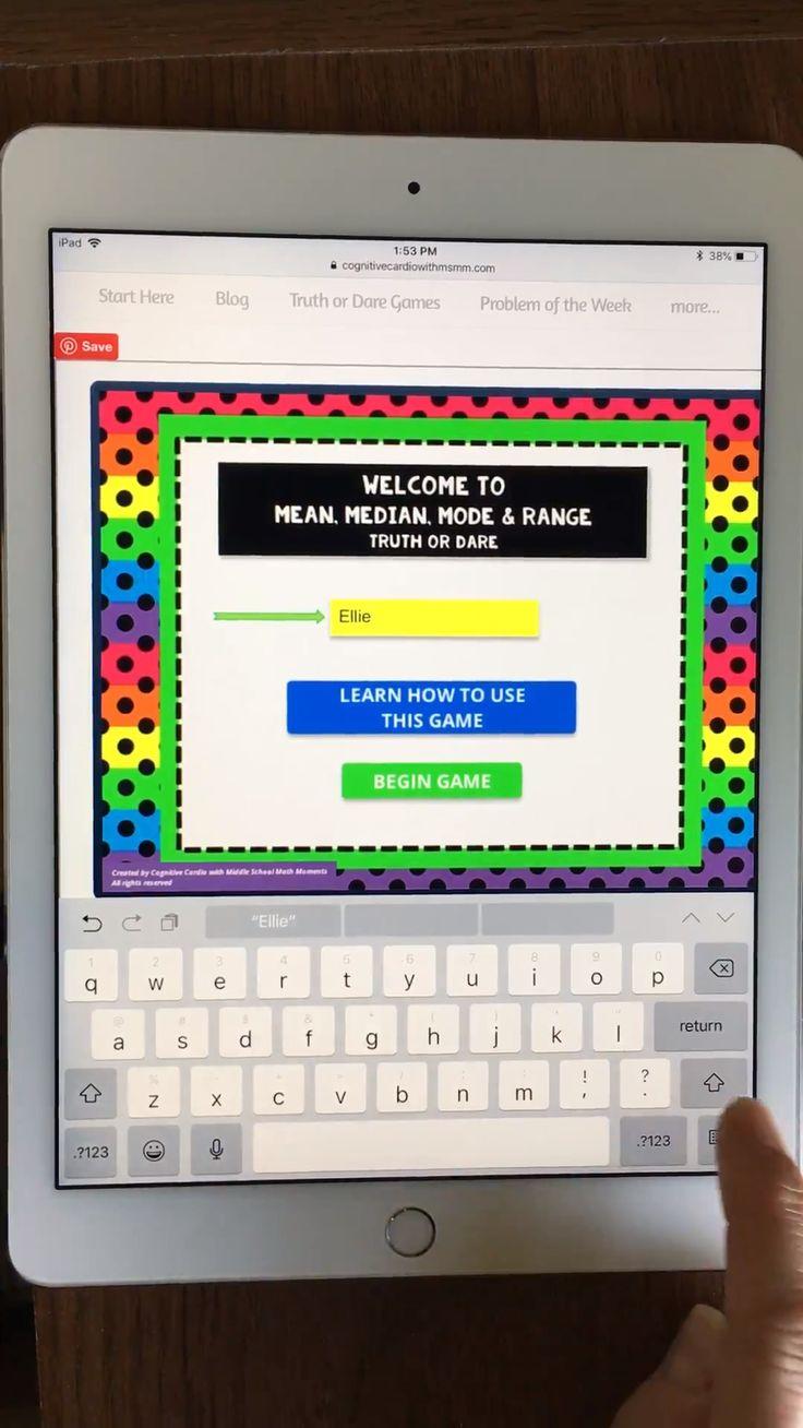 Math Games [Video] Online middle school, Math games