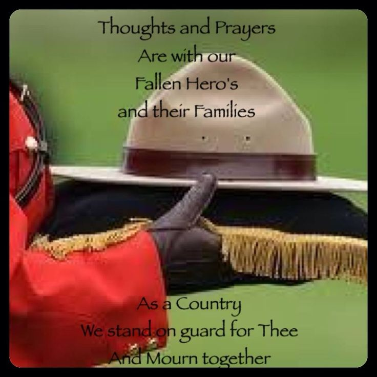Fallen RCMP in Moncton,