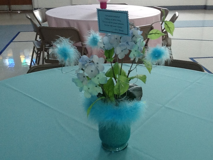 diy centerpiece i did for a coworker39s retirement party event