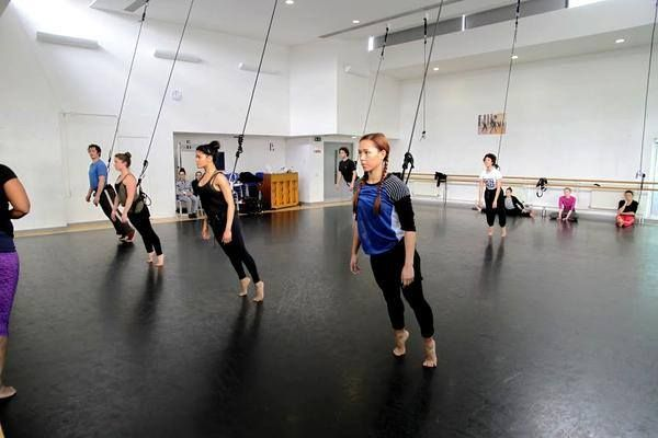 Bungee class, mixing up dance by adding an aerial twist by Upswing in London
