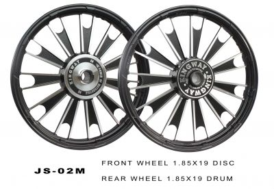 Buy ALLOY WHEEL BLACK D2 ROYAL ENFIELD KINGWAY On Special Discount From Safexbikes.com - Motorcycle Parts And Accessories Online Shopping