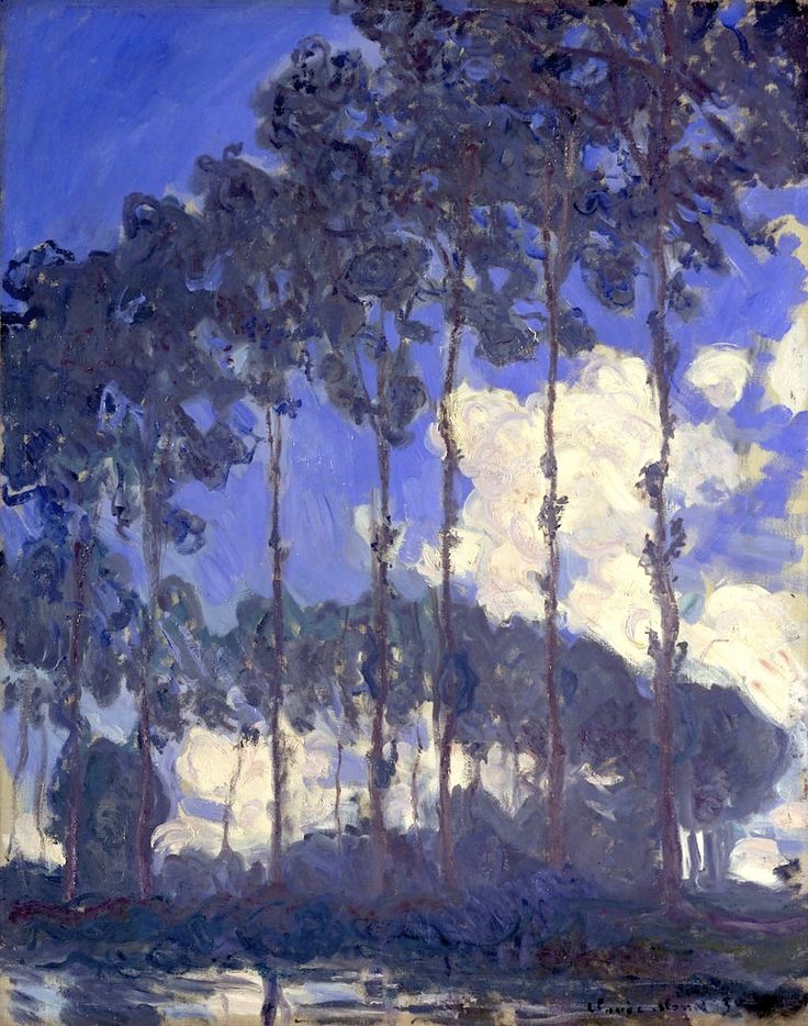 Claude Monet - Poplars on the Epte -1891