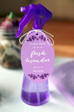 Lavender Pillow Spray Recipe