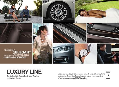 My BMW Days was a special event, created by #BMW Belgium, where customers could take advantage of significant discount. The Direct Marketing materials, both in French and Dutch, were augmented with @Layar, allowing customers to access rich media content right on their smartphones.