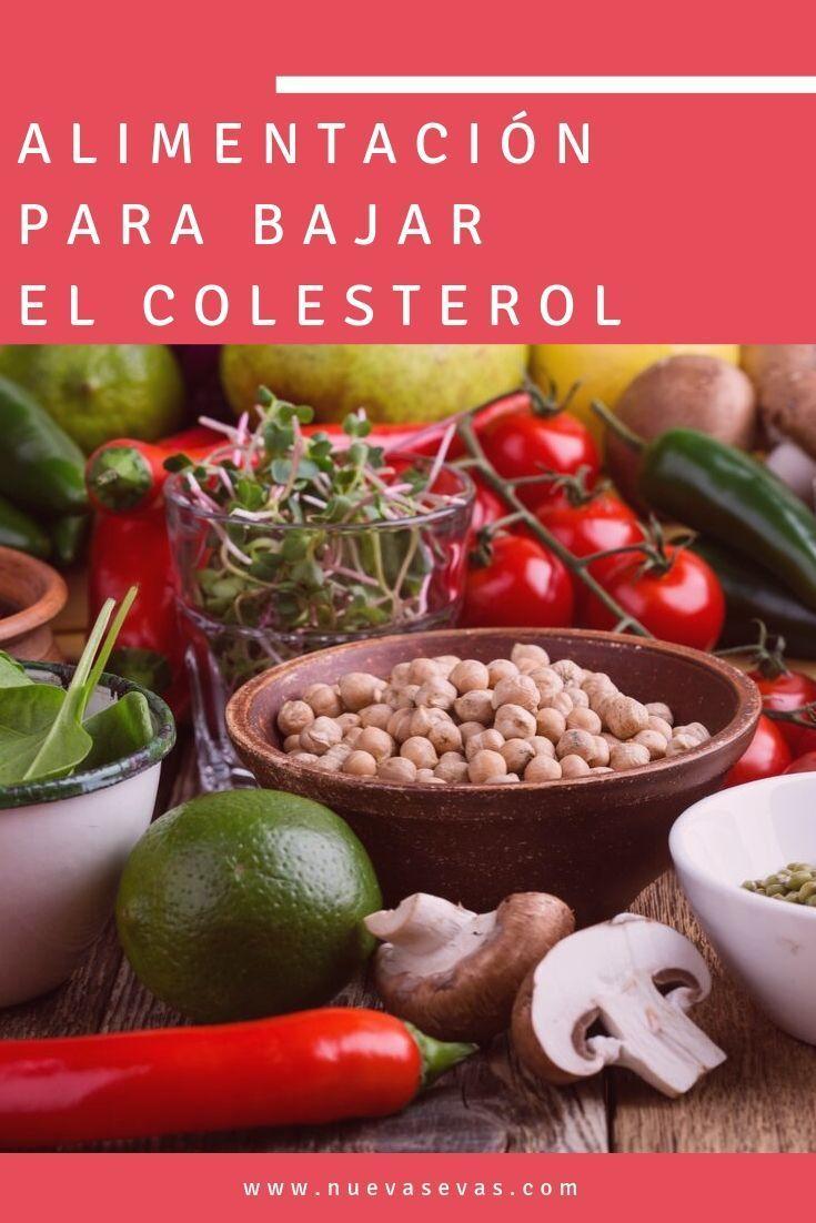 alimentacion saludable para colesterol alto