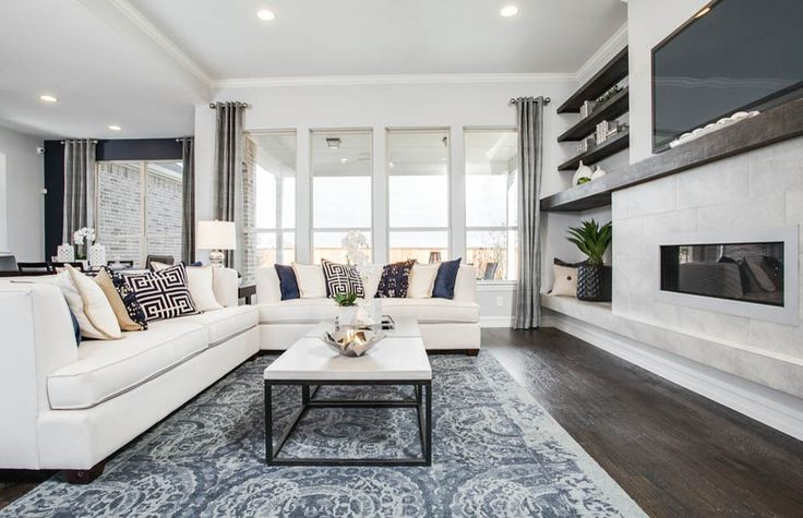 Sophisticated Living Rooms | Pulte Homes