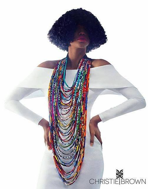 Fashion Ghana Magazine | Christie Brown jewelry collection