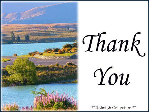 Salmiah Collection: Thank You Card 30