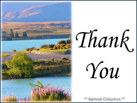 Salmiah Collection: Thank You Card 30