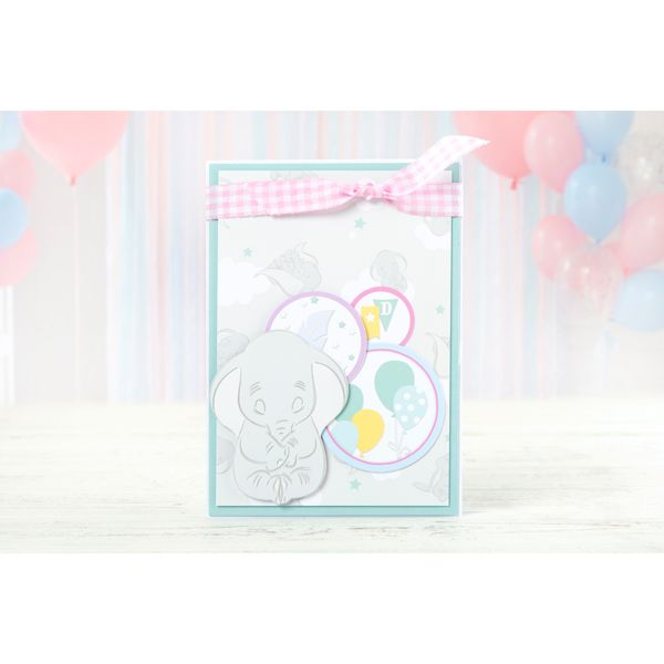 Disney Dumbo Colourful Creations Paper Pad No Colour