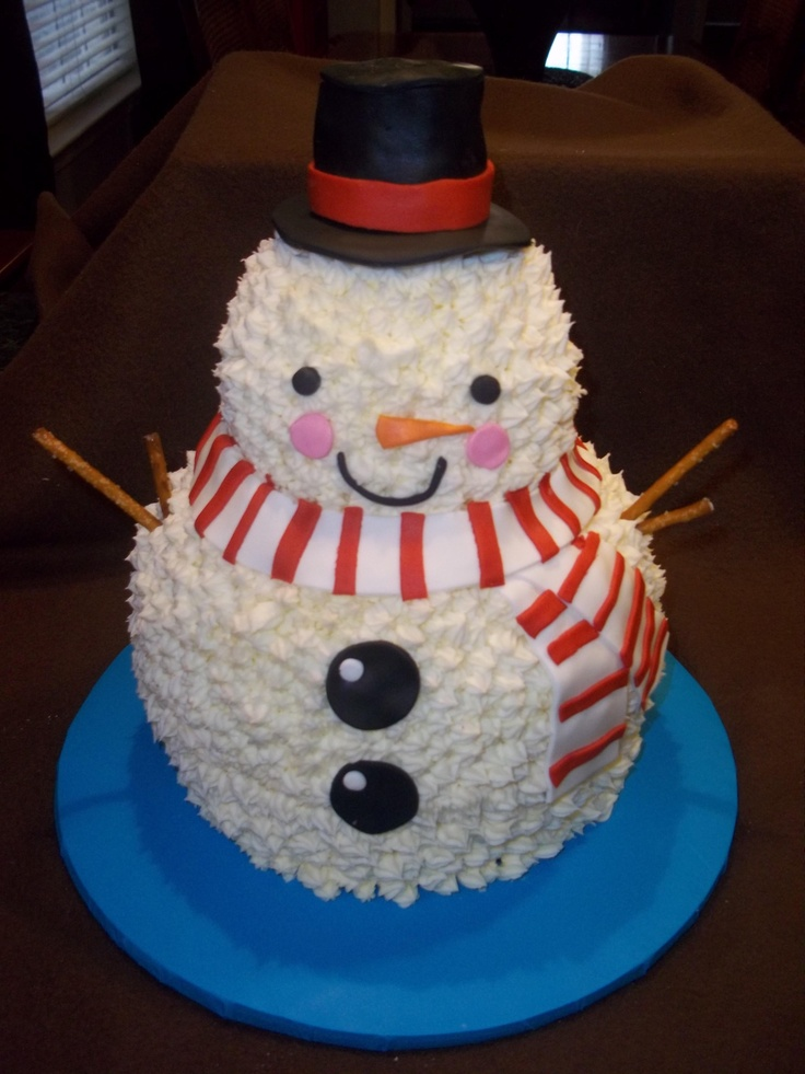 77 best Snowman Cakes, Cupcakes & Cookies images on ...