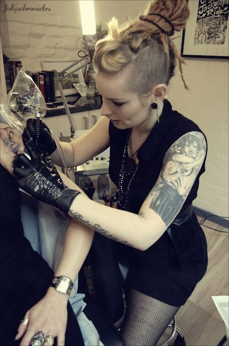 1000 images about tattoo target audience on pinterest for Girl tattoo artist