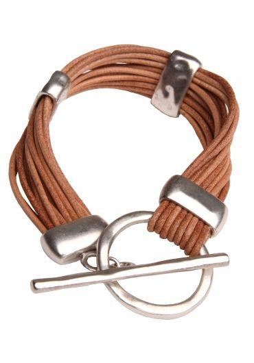 Handmade 16 Leather Strings Brecelet - Bracelets - Jewelry