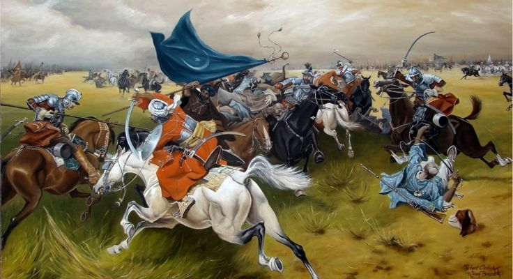 123 best osmanl images on pinterest ottoman empire middle ages ottoman turks in battle at the siege of vienna fandeluxe Choice Image