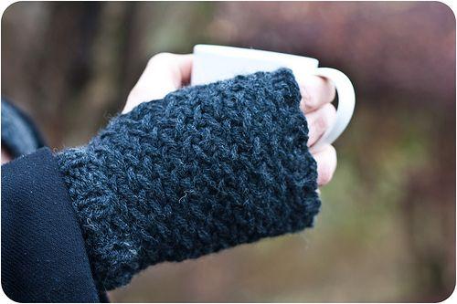North Sea Kipper Handwarmers / Crochet