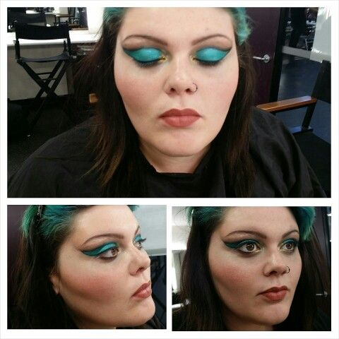 Music video makeup